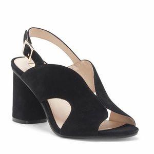 NEW Louise et Cie Kamber Open Toe Sandal Heels 5.5